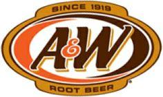 a w logos   A & W