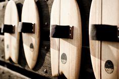 Handplanes Deus, Handmade by Andrew Wells at Grown Surfboards | @SingleFin_