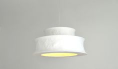mariekedijkers - papieren lamp 60 x 28cm 2