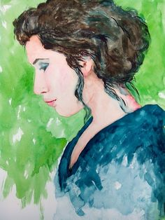 Verde Disney Characters, Fictional Characters, Disney Princess, Painting, Art, Watercolors, Green, Painting Art, Paintings