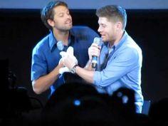 JUS IN BELLO 5 Supernatual Con 2014 - JIB5 - Sunday Jensen/Misha panel start