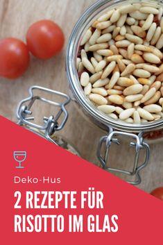 Geschenke aus der Küche DIY Risotto im Glas selber machen Rezept plus etiketten zum Ausdrucken