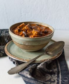 Das Auberginen-Curry ist das mit Abstand leckerste Curry, dass ich bisher gegessen habe. Solltet ihr unbedingt probieren.