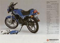 RD 80 lc 1983 ( Portugal know the variant Rz 50 lc ) with the same design but only 50cc