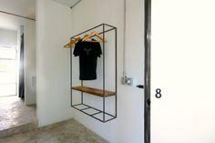 "Drift-Hotel-San-Jose-Baja-4-Remodeista.jpg Good design idea for a ""closet"""