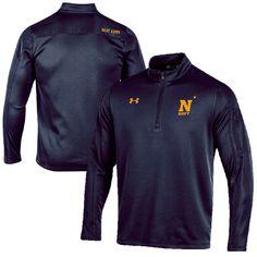Navy Midshipmen Under Armour 2016 Beat Army Armour Fleece Quarter-Zip Jacket - Navy - $74.99