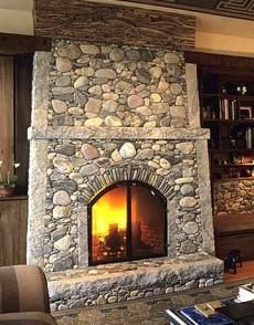 1000 images about field stone projects on pinterest for Field stone fireplace