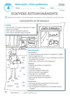 Valutazione Classe 5 by ELI Publishing - Issuu Geography Lessons, Italian Language, Learning Italian, Back To School, Teaching, Writing, Geography, Alphabet, Primary Music