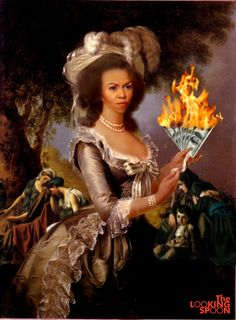 Only a few days ago a report from watchdog group Judicial Watch estimated Michelle Obama's 2010 trip to Spain alone cost taxpayers approximately $467,000. The same group estimated that a trip to Africa the next year cost only slightly less, and those are only two trips from the myriad of vacations Michelle Antoinette has taken using the perks of her husbands job to live like American royalty.
