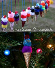 50 Home Made Ornament and Decoration Items - Marry Christmes
