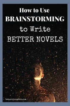 How to Write Better Novels with One Key Step: Brainstorming writing tips writing advice writing tips writing writer writing community Creative Writing Tips, Book Writing Tips, Pre Writing, Writing Words, Cool Writing, Writing Workshop, Writing Process, Fiction Writing, Writing Resources