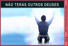 LIÇÃO 3 – NÃO TERÁS OUTROS DEUSES by Escola Bíblica Dominical via slideshare