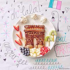 Parigi (idee-per-far-mangiare-verdure-ai-bambini) by Samantha Lee