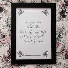 In You I've Found The Love Of My Life And My by lovefromAngie