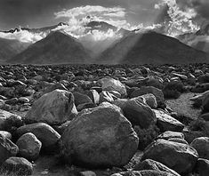 Ansel Adams (photographer) also one of the 7 photographers apart of the Group F/64. His photography demonstrated an appeal for natural forms.