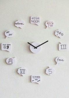 Cute clock for teen girl room More