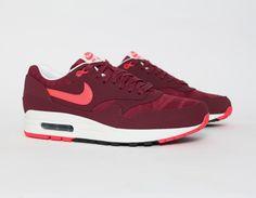 #Nike Air Max 1 Burgundy