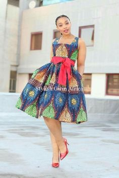 African Print Dresses, African Dresses For Women, African Wear, African Attire, African Fashion Dresses, African Women, Ghanaian Fashion, African Prints, African Inspired Fashion