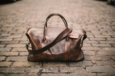 The Original Cavalier Leather Duffle, hand-sewn in lower Manhattan and made to order. Photography by Matt Edge. — Cavalier on the web: http:...