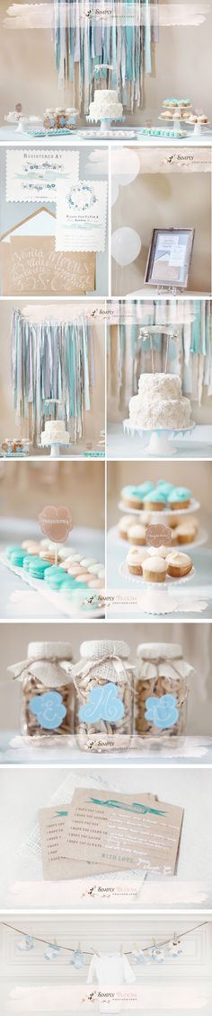 best baby shower photos, blue baby shower, baby boy baby shower