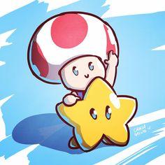 #toad #daily #sketch #picoftheday #cute #supermario #nintendo #ninstagram