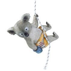 'Kai' The Rock Climbing Hanging Koala Animal Garden Ornament Animal Garden Ornaments, In The Tree, Rock Climbing, Animal Design, Traditional Design, The Rock, Garden Inspiration, Garden Design, Christmas Ornaments