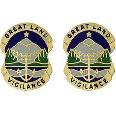 Alaska National Guard Unit Crest – USAMM