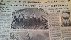 MAY 2, 1976 NEWSPAPER PAGE #J5397- BOLD FORBES SMOKES KENTUCKY DERBY FIELD