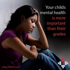 Mental health more important stressing over grades