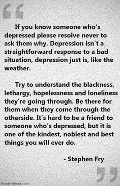 Learning to deal with depression is one of the most important things you learn in life. Research your symptoms and circumstances until you are comfortable with your understanding of depression and seek professional help . Great Quotes, Quotes To Live By, Inspirational Quotes, Awesome Quotes, Motivational, Sad Quotes, Bipolar Quotes, Gorgeous Quotes, Quirky Quotes