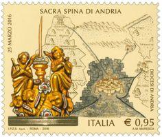 Emissione di un francobollo celebrativo della Sacra Spina di Andria