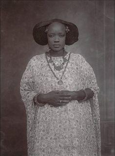 senegalese woman ca 1910