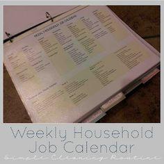 More Home Organization Printables