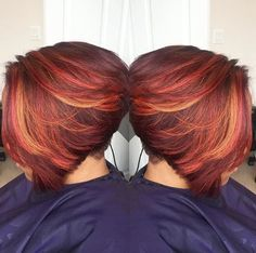 Nice color blend via @mochadumore Read the article here - http://blackhairinformation.com/hairstyle-gallery/nice-color-blend-via-mochadumore/