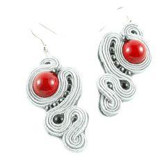#kolczyki #sutasz #soutache na DaWanda.com Earrings, Etsy, Jewelry, Fashion, Ear Rings, Moda, Stud Earrings, Jewlery, Jewerly