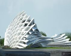 The Most Sensational Futuristic Architecture! Architecture Design, Parametric Architecture, Parametric Design, Organic Architecture, Concept Architecture, Futuristic Architecture, Beautiful Architecture, Contemporary Architecture, Unusual Buildings