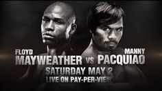 Boxing Fans will have to pay to see the May/Pac weigh-in! http://www.potshotboxing.com/?p=5493
