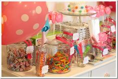 First Birthday Party: Sweet Shoppe - A Thoughtful Place