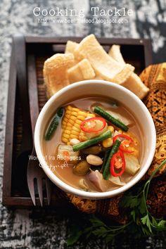 Cooking Tackle: Sayur asem / various vegetables in tamarind soup