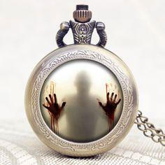 $4.09 (Buy here: https://alitems.com/g/1e8d114494ebda23ff8b16525dc3e8/?i=5&ulp=https%3A%2F%2Fwww.aliexpress.com%2Fitem%2FThe-Walking-Dead-Theme-Zombie-Design-Glass-Dome-Bronze-Quartz-Pendant-Pocket-Watch-Best-Gift-To%2F32563939052.html ) The Walking Dead Theme Zombie Design Glass Dome Bronze Quartz Pendant Pocket Watch Best Gift To American Drama Fans for just $4.09