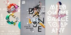 Graphic design inspiration, posters and covers