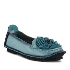 L'Artiste by Spring Step Dezi Women's Ballet Flats, Size: 39, Blue