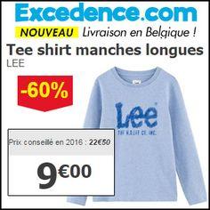 #missbonreduction; Economisez 60 % sur le Tee shirt manches longues LEE chez Excedence.http://www.miss-bon-reduction.fr//details-bon-reduction-Excedence-i246-c1828666.html