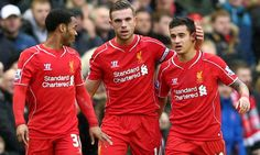 Henderson and Sterling close in on Suarez and Sturridge