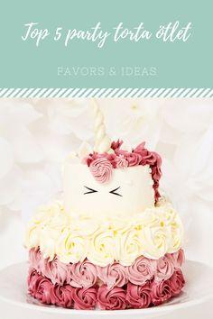 Itt a nyár, indulnak a nyári party-k, akár szülinapi bulik is. Ha nincs ötleted hogy milyen tortát készíts szülinapra gyerkőcöknek vagy éppen felnőtteknek akkor most figyelj, Remek ötletek, az idei… Girly Birthday Cakes, Cake Decorating, Unicorn, Favors, Muffin, Food And Drink, Party, Desserts, Presents