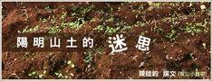 ⚫ 陽明山土 - 為什麼這麼有名?  因土質為弱酸性,富含礦物元素,顆粒狀,排水容易,通氣良好。拿來種植盆景,4~5 年不用換土。價格昂貴 (通常 1~2kg 要 50~200 元),大部分用在園藝造景。 ⚫ 陽明山土有很多種,陽明山系 (從北投到三芝) 這一帶的土都算,並不是只有一種:前山 (北投) 為黃色土壤,後山 (三芝) 為紅色土壤,土質差異非常大。真正的陽明山土應是黑褐色,因屬火山地帶,應為顆粒狀,且遇水較不易成泥或爛,而是慢慢分解或碎成粉狀,但黑色的陽明山土是禁採的。陽明山土應為市面對火成土壤的通稱。 < > ⚫ 真正陽明山土略呈赤褐色,早已禁採。現在市售都是私人土地工事開挖的餘土。土質保有盆栽用土的特性如微酸、顆粒狀,過篩後仍可混其他介質用於盆栽;若不過篩可以混碳化稻穀和唐山石或山砂。 > < ⚫ 陽明山土:黑色。顏色偏黃偏紅的,可疑。養分夠、黏性高,混拌可增加保水性。 Blog, Blogging