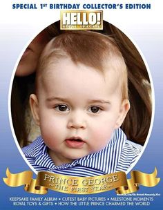 Special Collectors Edition of Hello to mark Prince George's First Birthday