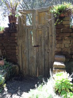 Gate at Myrtle Creek Nursery, Fallbrook, CA