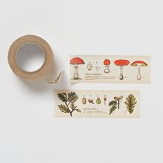 Garden Greetings Tape in Valentine's + Gifts Valentine's Day Cards+Wrap at Terrain Cinta Washi, Tapas, Stationery Craft, Craft Desk, Paper Crafts, Diy Crafts, Decorative Tape, Paper Tape, Home And Deco
