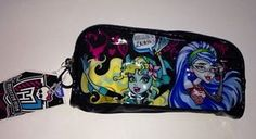 Monster High Pencil and School Supplies Zippered Case New | eBay